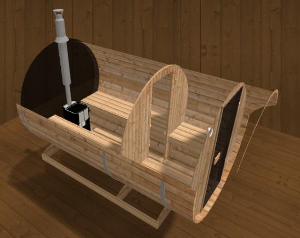 fasssauna nach mass pers nliche ausstattung und preis auf anfrage. Black Bedroom Furniture Sets. Home Design Ideas