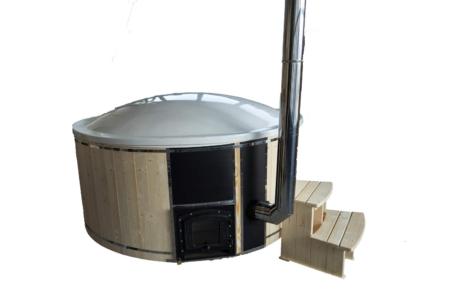 Badezuber, Hot-Tub, Longlife-Komfort-mit-Deckel