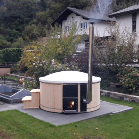 Hotpot Badefass Komfort Kundenfoto