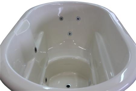 Hot Pot oval Hydro LED Thermoholz